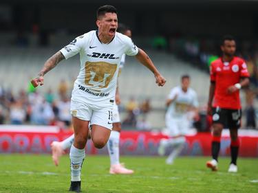 Iturbe marcó el segundo tanto de los Pumas. (Foto: Getty)