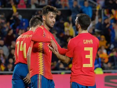 Brais es el tercer jugador del Celta que marca en su debut con España. (Foto: Imago)