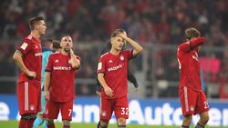 Der FC Bayern patzte am Wochenende erneut