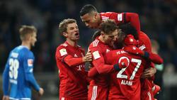 FC Bayern setzt BVB mit Sieg in Hoffenheim unter Druck