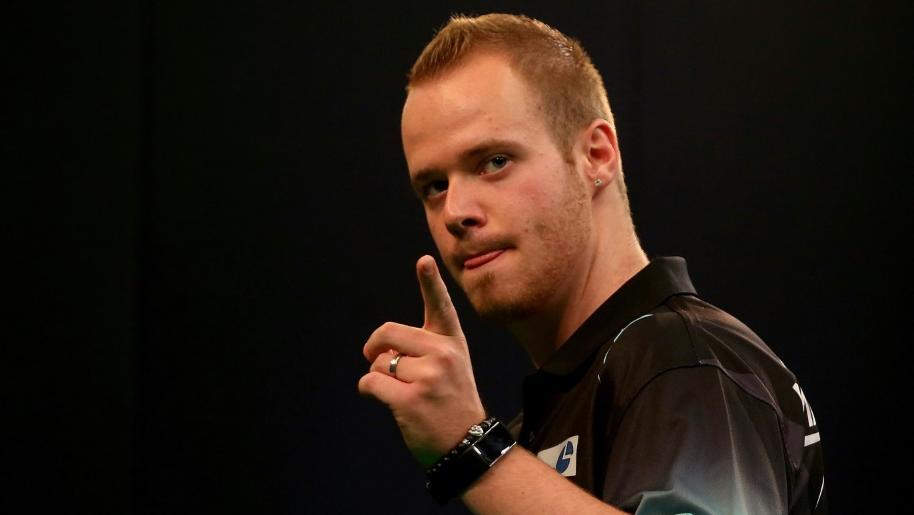 Zum ersten Mal in der Premier League of Darts: Max Hopp