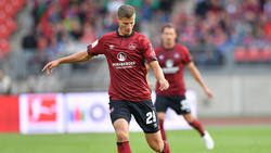 Patrick Erras kann dem 1. FC Nürnberg am Wochenende nicht helfen