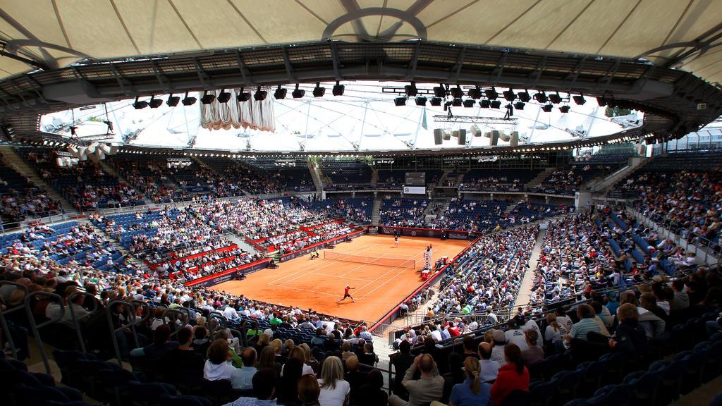 Das traditionsreiche Tennisstadion am Hamburger Rothenbaum wird modernisiert