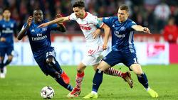 Hamburg und Köln trennten sich Unentschieden