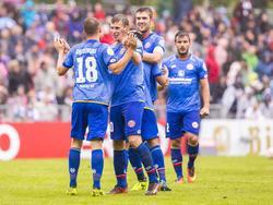 Der FSV ist souverän in die 2. Pokalrunde eingezogen