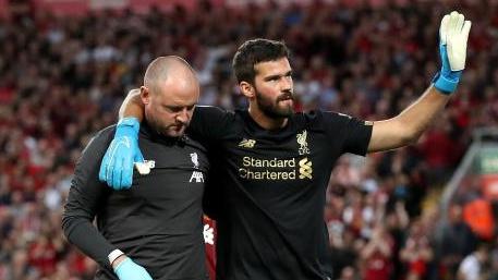 Muss weiter pausieren: Liverpool-Keeper Alisson Becker