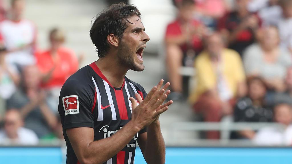 Startet in dieser Saison bei Eintracht Frankfurt durch: Goncalo Paciência