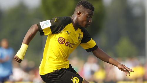 Youssoufa Moukoko schoss den BVB in der Schlussphase zum Sieg