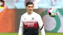 Steven Zuber von Eintracht Frankfurt soll das Interesse der Konkurrenz geweckt haben