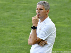 Rapid-Coach Kühbauer peilt mit seinem Team den ersten Saisonsieg an