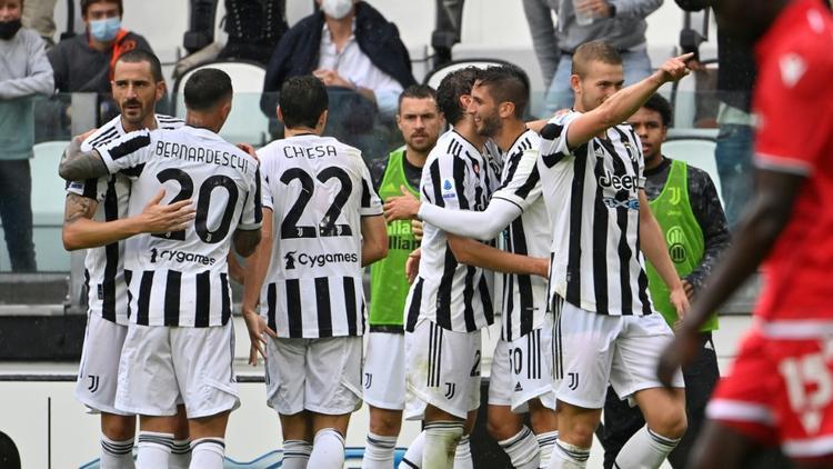 Juventus Turin kommt langsam in Fahrt