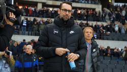 Die Trainerfrage bei Hertha BSC soll im Frühjahr geklärt werden