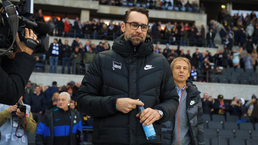 Das Tischtuch zwischen Michael Preetz und Jürgen Klinsmann ist zerschnitten