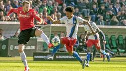 Jeremy Dudziak (r.) wird dem HSV länger fehlen