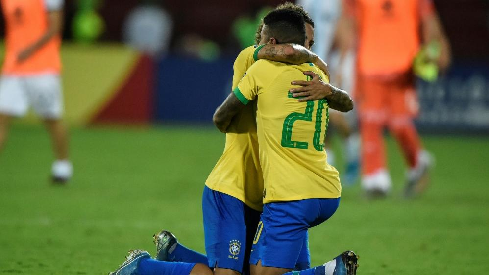 Brasilien löst Olympiaticket