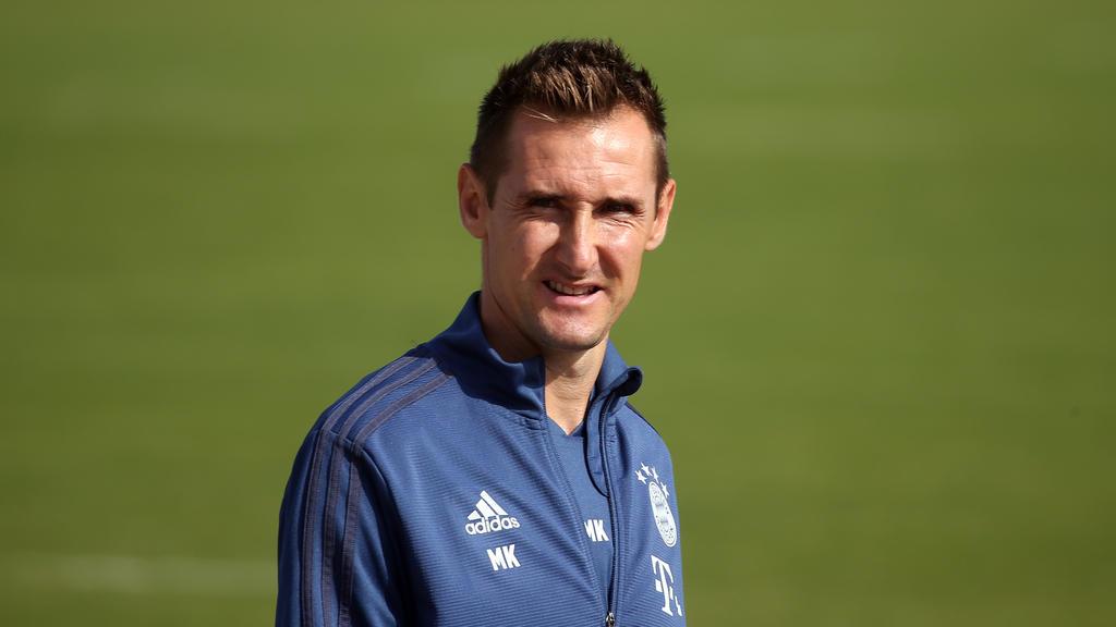 Miroslav Klose arbeitet seit 2018 als Trainer des FC Bayern München