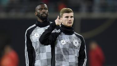 Antonio Rüdiger und Timo Werner spielen zusammen in der Nationalmannschaft