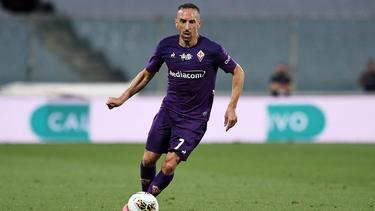 Franck Ribéry spielt für den AC Florenz
