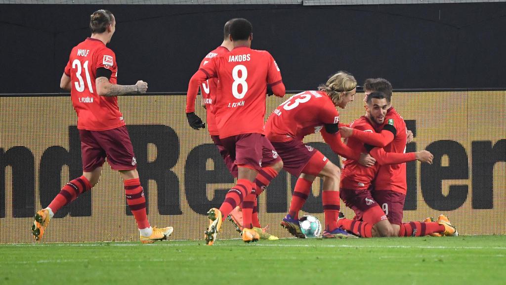Der 1. FC Köln jubelte beim BVB