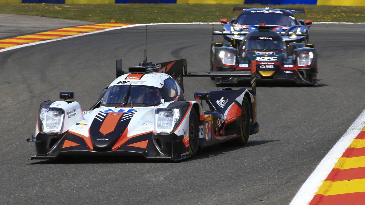 Toyota hatte in den Spa-Trainings gegen LMP2-Autos zu kämpfen