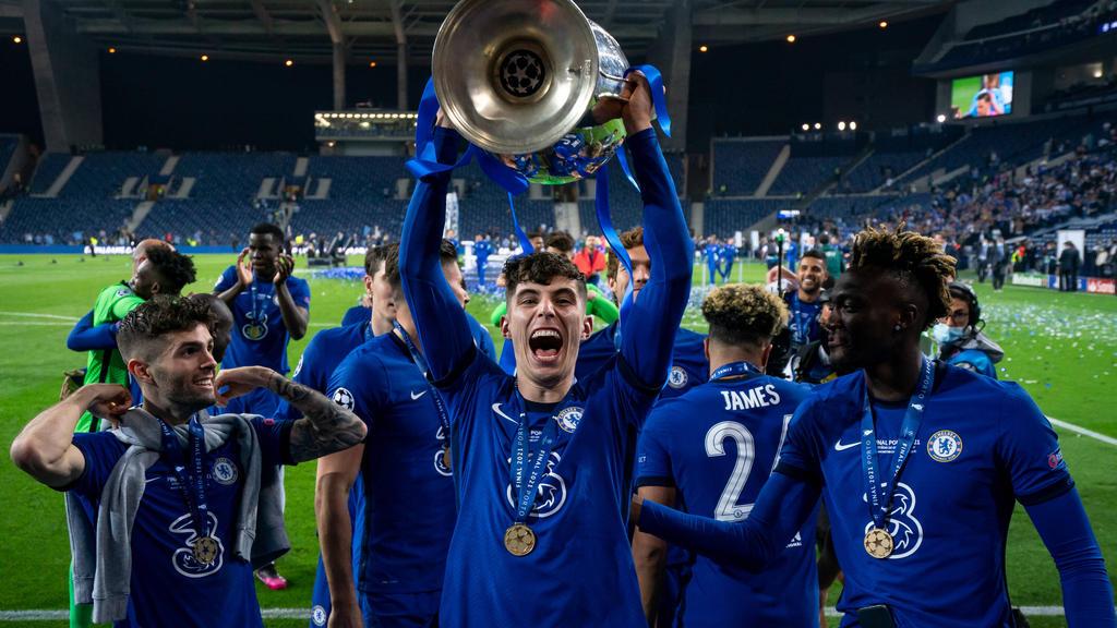Kai Havertz erzielte das Goldene Tor im Champions-League-Finale