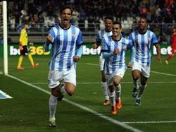 Roque Santa Cruz trifft für den FC Málaga