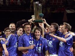 Sieger des DFB-Hallenpokals 2001: SpVgg Unterhaching