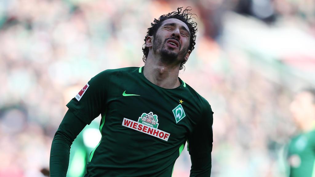 Ishak Belfodils spielte letzte Saison auf Leihbasis beim SV Werder Bremen