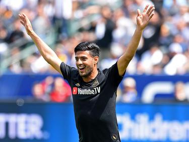 Vela fue elegido al XI ideal de la temporada de la MLS. (Foto: Getty)