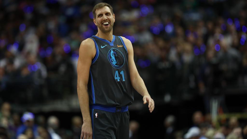 Dirk Nowitzki steuerte drei Punkte zum Sieg der Dallas Mavericks bei