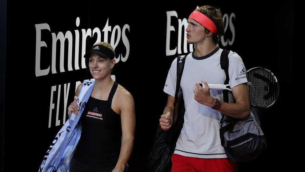 Angelique Kerber und Alexander Zverev treffen jeweils auf Tennis-Spieler aus Slowenien