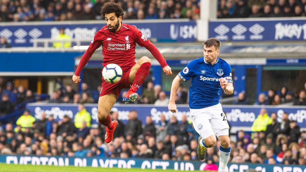 Für Mo Salah und den FC Liverpool gab es gegen Everton nichts zu holen