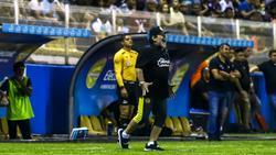 Maradona muss mit Les Dorados um den Aufstieg bangen