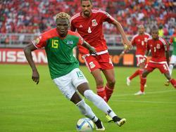 Aristide Bancé steht mit Burkina Faso im Halbfinale