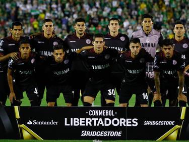 Once inicial de Lanús en un reciente partido de Libertadores. (Foto: Getty)