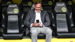 Hans-Joachim Watzke will mit dem BVB nach dem Titel greifen