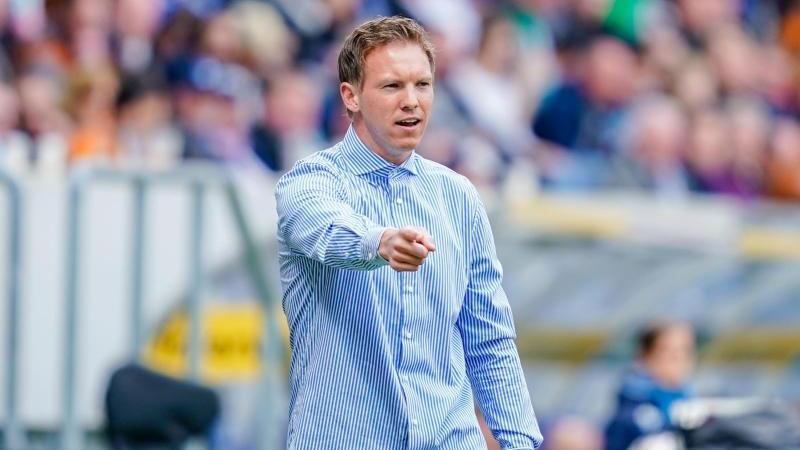 Julian Nagelsmann will mit RB Leipzig oben angreifen