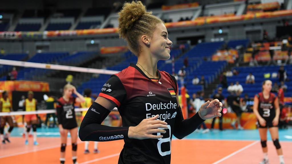 Kimberly Drewniok und die DVV-Damen wollen zu Olympia