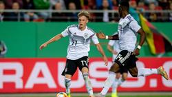 """Bote """"Ridle"""" Baku und Makana """"Rudi"""" Baku stehen im Fokus der U21-Elf des DFB"""