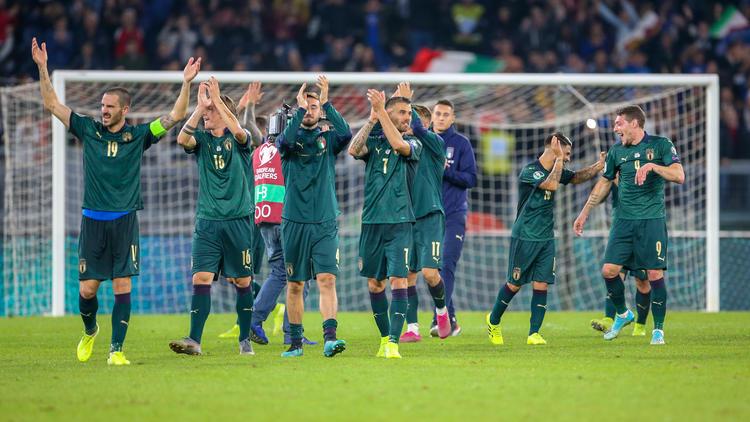 Italien hat das EM-Ticket in der Tasche