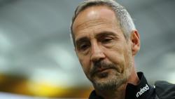 Adi Hütter plagen bei Eintracht Frankfurt große Personalsorgen im Sturm