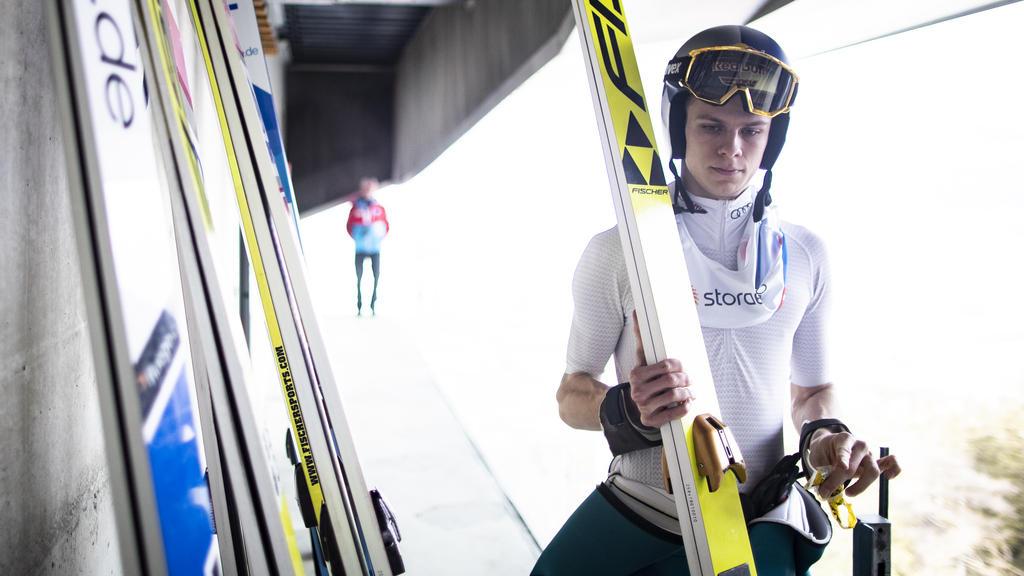 Musste am Rande der Vierschanzentournee in Oberstdorf viele Fragen beantworten: Andreas Wellinger