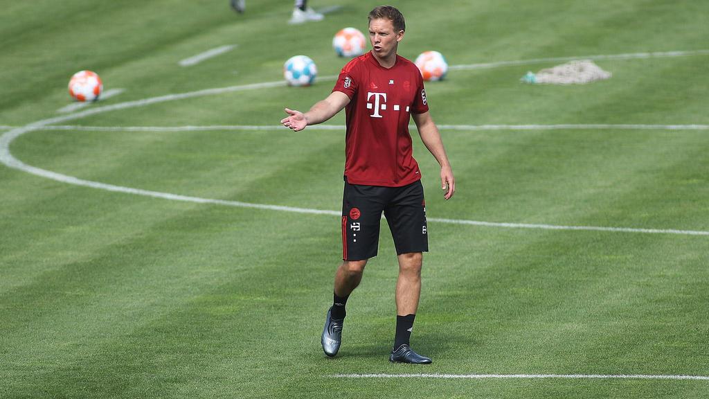Julian Nagelsmann befindet sich mit dem FC Bayern in der Vorbereitung