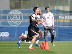 Messi ya se entrena a las órdenes de Pochettino.
