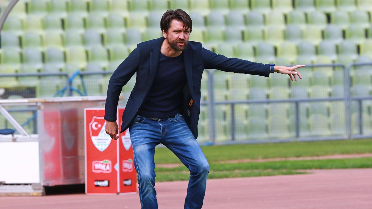 Peter Hyballa hat den BVB II mit Türkgücü München besiegt