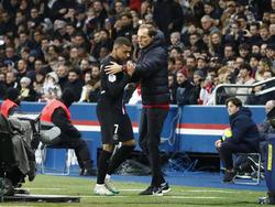 Kylian Mbappé war nach seiner Auswechlung nicht gut auf den Coach zu sprechen