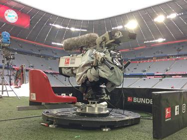 Imagen del Allianz Arena de Múnich totalmente vacío.