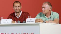 Jochen Sauer (l.) verlängert beim FC Bayern