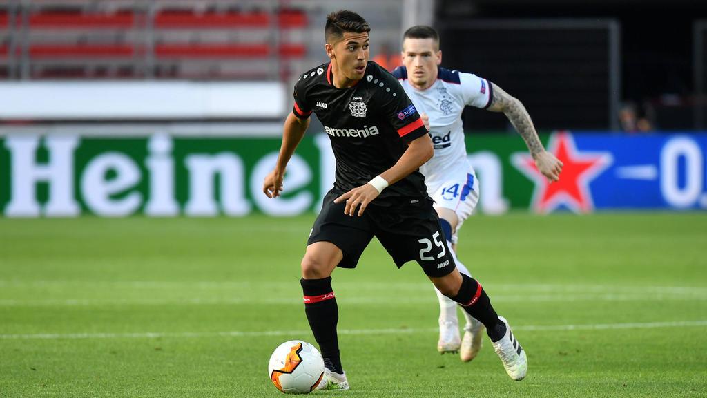Wechselte im Januar 2020 zu Bayer Leverkusen: Exequiel Palacios