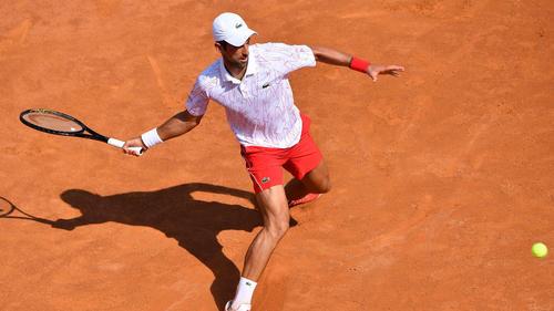 Novak Djokovic steht im Viertelfinale von Rom
